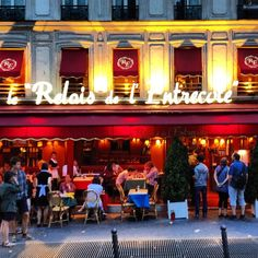 For charm, ease and no-frills food, this no-reservations restaurant offers you one choice: steak frites.  Though touristy, it never fails to deliver, with its brasserie-style decor and attentive servers.