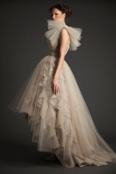 side view of the layers dress