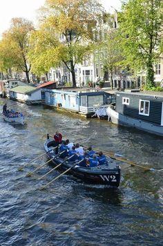 Full speed at Grachtenrace Amsterdam 2013