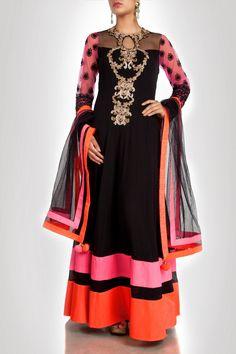 2 long anarkali maxi style dress