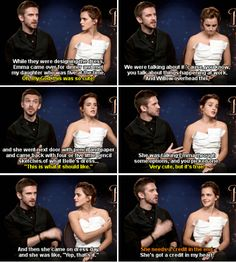 Emma Watson and Dan Stevens - [Interviewer:] The iconic yellow dress, I read that it took over 12,000 hours to make.