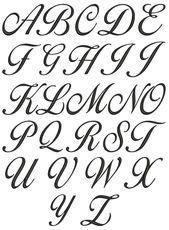 Cursive Alphabet A To Z A z cursive lettering for Alphabet A, Style Alphabet, Cursive Fonts Alphabet, Tattoo Lettering Fonts, Letter Fonts, Fancy Writing Alphabet, Letters In Cursive, Cursive Script, Alphabet Letters Design