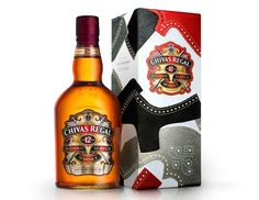 """Chivas Regal 12 Year Old """"Made for Gentlemen"""", Limited Edition by Tim Little"""