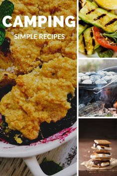 Everything tastes better over a campfire and eaten at a campsite. Get 101 desserts, entrees, chicken, chili and even jerky recipes! Jerky Recipes, Camping Accessories, Camping Meals, Entrees, Easy Meals, Chicken, Ethnic Recipes, Desserts, Food
