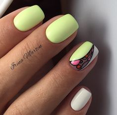 Nail Art Colors and Style for Summer - Nails C Creative Nail Designs, Colorful Nail Designs, Cute Nail Designs, Creative Nails, Acrylic Nails, Gel Nails, Nail Polish, Cute Nails, Pretty Nails