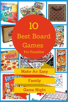 Have a Family Game Night with one of these great games and a Tony's Authentic Pizza for a quick meal so you can get your game on! #tonyspizz...