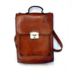 rustic leather bags - Google Search