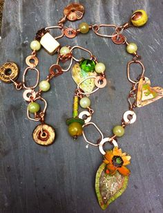 Squash Blossom necklace by Melinda Barnett