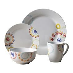 Tabletops Gallery Fulton 16-pc. Dinnerware Set