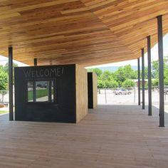 Covington Farmers Market par la conception / buildLAB à VA Tech School of Architecture + Design