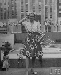 From Life Magazine 1944 via When Decades Collide