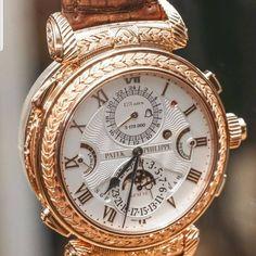 Vintage Watches Patek Philippe Grandmaster Chime - The Patek Philippe Grandmaster Chime 5175 watch is undeniably impressive. Amazing Watches, Beautiful Watches, Cool Watches, Fine Watches, Seiko Watches, Luxury Watches For Men, Vintage Watches, Fashion Watches, Thoughts