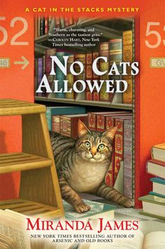 In the latest mystery in the New York Times bestselling Cat in the Stacks series, librarian Charlie Harris and his Maine Coon cat Diesel must clear a friend when the evidence is stacked against her… #cozymysteries #cat