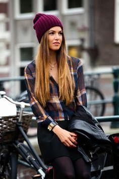 La Chica Bien: Protégete del frío con estilo: gorritos.