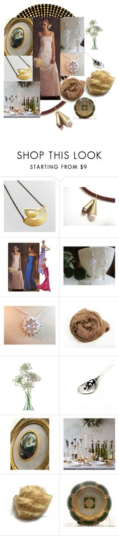 """""""Cozy Wedding Party"""" by inspiredbyten ❤ liked on Polyvore featuring vintage"""