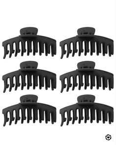 Amazon Purchases, Open Hairstyles, Hair Claw, Thick Hair, Clamp, Matte Black, Beauty Products, Butterfly, Long Hair Styles