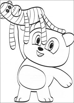 Coloriage Dessins. Julius Jr 23