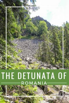 The Detunata   ROMANIA