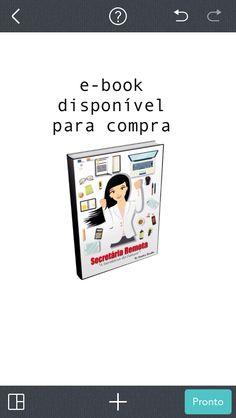 Correeee nosso primeiro e-book sobre Secretariado Remoto chegouuuu!!!! Site: oneconsultoriasr.com.br Link :https://go.hotmart.com/C5306684B