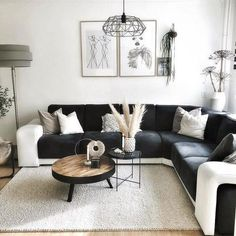 You are in the right place about Minimalist Living Room vintage Here we offer you the most beautiful Living Room Grey, Living Room Sofa, Home Living Room, Apartment Living, Living Room Designs, Charcoal Sofa Living Room, Design Lounge, Minimalist Sofa, House Of Turquoise