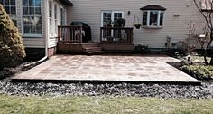 Welcome Home Remodeling, Ltd.  Eastlake, OH 44095  Custom Stone Patios  Call (440) 799-5772 For Free Estimate!