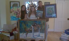 That is a great looking family! Thanks to all of you for supporting my art  :) Jen Callahan ©