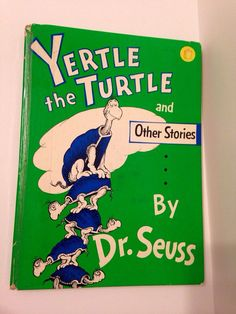 Yertle the Turtle by Dr Seuss Circa 1958 by TooTooKute on Etsy