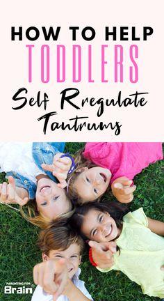 Self Regulation & Emotional Regulation Skills in Children - Parenting For Brain Parenting Done Right, Parenting Fail, Parenting Toddlers, Gentle Parenting, Parenting Ideas, Emotional Regulation, Self Regulation, Toddler Behavior, Bad Kids