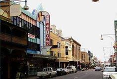 Down Town. Hindely Street, Adelaide. 1970s