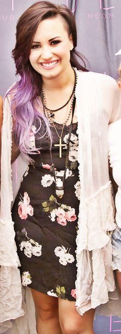 ¡Demi tiene un estilo espectacular!