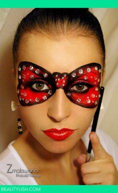 Halloween Mask Bal | Zmalowana A.'s Photo | Beautylish
