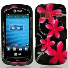 Grap on a #LG Xpression C395 Hard Cover Case - Pink Star Flower Shipped Free in The US. ONLY $9.99 from #Acetag