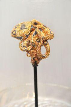 Remarkable octopus bracelet by Jack du Rose