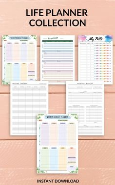 You can use this Budget Expense Tracker for household or personal budget. Perfect for all stages in your finance journey. You can choose paper size: A4, A5, Letter or Half Letter. #spending #tracker #cash #money #log Weekly Budget Planner, Life Planner, Expense Tracker, Planner Template, Paper Size, Budgeting, Printable Budget, Finance, Spending Tracker