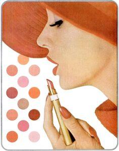 Max Factor advertisement, 1962