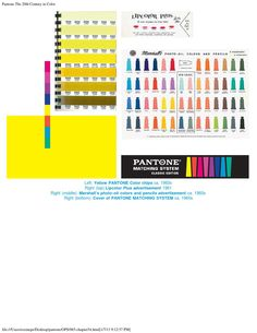 Pantone Book - The 20th Century in Color by I´M POLUX - issuu