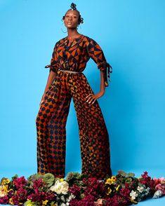 Mixed Prints, Jumpsuit, Pants, Dresses, Fashion, Overalls, Trouser Pants, Vestidos, Moda