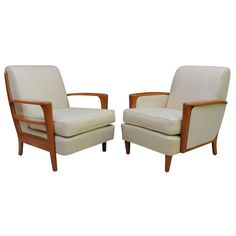 Grand Streamline Modern Heywood Wakefield Lounge Chair For Sale