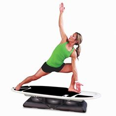 The Only Surfing Experience Core Trainer - Hammacher Schlemmer