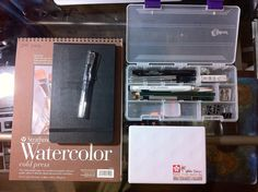My sketch kit for this weekend | Flickr - Photo Sharing!