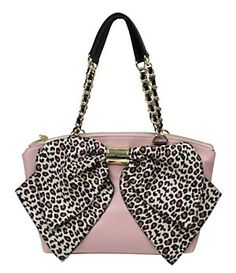 Betsey Johnson Bow Nanza Leopard Print Satchel | Dillard's Mobile. Someone please buy this for me!!