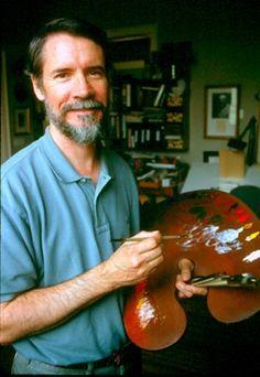 American painter Evan Wilson Born 1953, Tuscaloosa, AL  Now lives in Hoosick, NY evan10