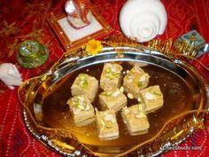 Mohan Thal, a very popular desset made with  besan (gram flour)