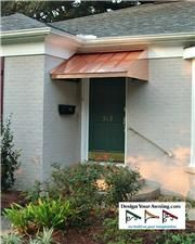 The Copper Wedge Awning Copper Awning, Copper House, House Trim, Wedge, Gallery, Outdoor Decor, Projects, Home Decor, Log Projects