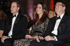 The Duke and  Duchess of Cambridge at a screening of David Attenborough's Natural History Museum Alive 3D at Natural History Museum 11 Dec 2013