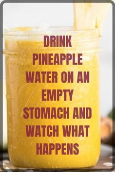 Weight Loss Drinks, Weight Loss Smoothies, Weight Loss Tea, Weight Loss Snacks, Healthy Breakfast For Weight Loss, Lose Weight, Healthy Weight, Pineapple Water Recipe, Pineapple Detox
