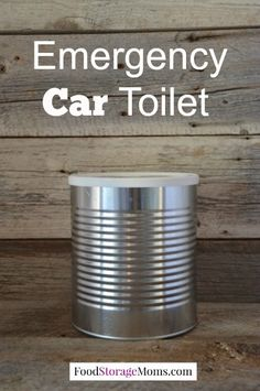 Emergency Car Toilet-put it in your car and it's ready when you need it by FoodStorageMoms.com