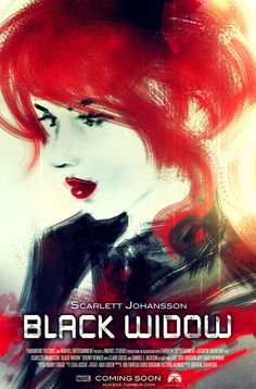 Black Widow #fanart poster