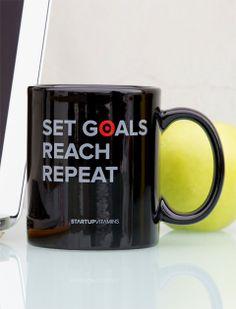 Set #goals. Reach. Repeat.