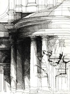 archisketchbook - architecture-sketchbook, a pool of architecture drawings, models and ideas  - architectural drawin Source: Link